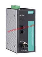Промышленный конвертер 10/ 100Base-TX в 100Base FX/ SC (Single Mode), разъем (PTC-101-M12-S-SC-LV-T)