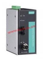 Промышленный конвертер 10/ 100Base-TX в 100Base FX, разъем М12, одномодовый (PTC-101-M12-S-ST-LV-T)