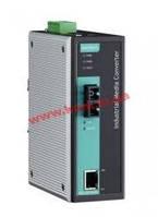 Industrial 10/ 100Base-Tx to 100-Fx Media Converter, Single Mode, SC Fiber Connec (IMC-101-S-SC-IEX)