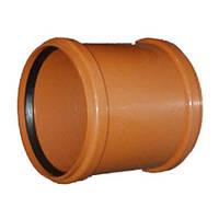 Муфта канализационная 160 мм внешняя