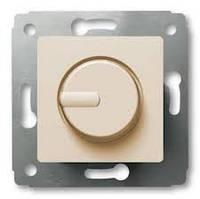 Диммер (светорегулятор) 300 Вт Cariva, слоновая кость