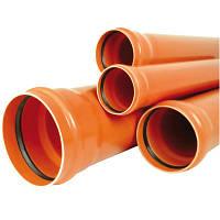 Труба наружная канализационная VALROM ПВХ 110х4000 мм