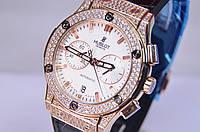 Женские наручные часы HUBLO-T Big Bang Lady Gold мех.Miyota