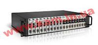 """Корпус в 19"""" стойку для конвертеров RS-232/ 422/ 485 в оптический канал, 110V to 220V A (TRC-190-AC)"""