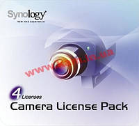 Код доступу для підключення 4 камер до Synology Surveillance Station (Code Pack 4)