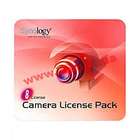 Код доступу для підключення 8 камер до Synology Surveillance Station (Code Pack 8)