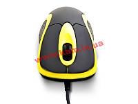 Мышь Flyper FM-3096 (Yellow) USB, Black-Yellow, оптическая, проводная, 2кн. + scroll, 1000 (FM-3096)