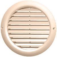 Вентиляционная решетка Vents МВ 125 бВс бежевый
