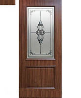 Дверь межкомнатная Версаль СС+ФП, CC+КР, ПГ орех, дуб беленый, каштан, дуб золотой