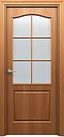 Дверь межкомнатная Палитра 11-4 (полотно полуостеклённое).ТМ БЕКАР