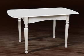 Стол обеденный белый на кухню Кельн Модуль Люкс. Стол  Поло, фото 3
