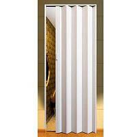Двери-гармошка ПВХ  2030x820 мм белый ясень 610