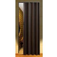 Двери-гармошка ПВХ  2030x820 мм бук 803