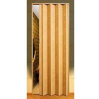 Двери-гармошка ПВХ  2030x820 мм светлый дуб 269