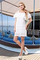 Летний женский белый сарафан