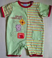 """Песочник """"Мишка-турист"""" для новорожденной"""