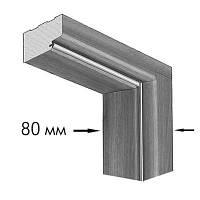 Коробка ламинированная Финиш-пленкой 2050x80x22 мм под добор (Цвет в ассортименте)