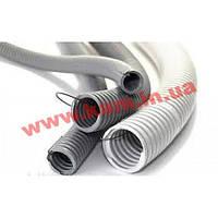 Гофро-труба D32/ 24.3 мм, PVC, з протяжкою, 50 м (91932)