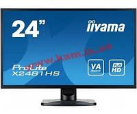 "24"" LED Монитор iiYama X2481HS-B1 (X2481HS-B1)"
