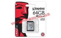 Карта памяти KINGSTON SDHC 64 GB G2 (CLASS 10) UHS-I (SD10VG2/64GB)
