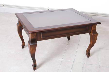 Стол журнальный Рим-2  (Стол журнальный Вега Микс мебель, цвет темный орех ), фото 2