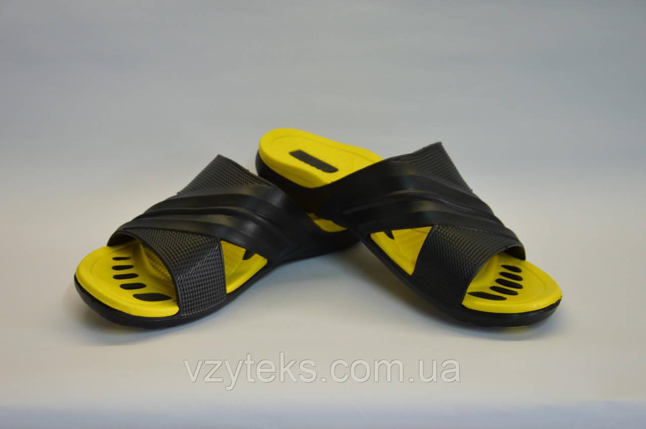Шлепанцы мужские желтые, фото 1