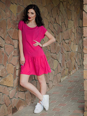 Свободное летнее платье