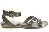 Босоножки женские Vallenssia черные без каблука, женские босоножки
