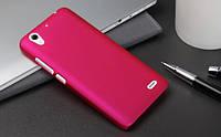 Пластиковый чехол для Huawei Ascend G630-U10 DualSim малиновый