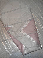 """Конверт-плед-одеяло на выписку новорожденного """"Розовая полоска"""" , фото 1"""