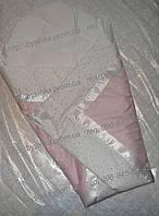 """Конверт-плед-одеяло на выписку новорожденного """"Розовая полоска"""""""