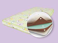 Детский матрас в кроватку Солнышко 120*60 см кокос пенополиуретан кокос поликотон