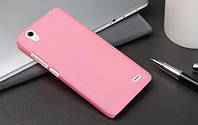 Пластиковый чехол для Huawei Ascend G630-U10 DualSim розовый
