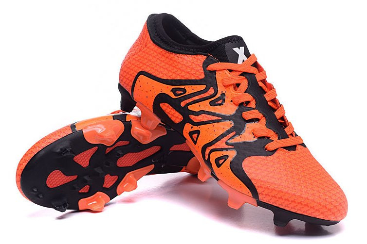 Футбольные бутсы adidas X15+ Primeknit FG/AG Solar Orange/Core Black/Bold Orange