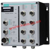 8 FE with 802.3at PoE+ and 2 GE M12 ports, power input 24 - 110 VDC, -40 t (TN-5510A-8PoE-2GTX-WV-T)