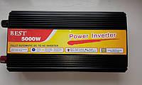 Преобразователь напряжения инвертор 5000W 12V-220V, power inverter 12v 220v, преобразователь с 12в на 220в
