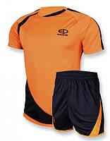 Футбольная форма игровая Europaw 002 (Оранжевый\черный)