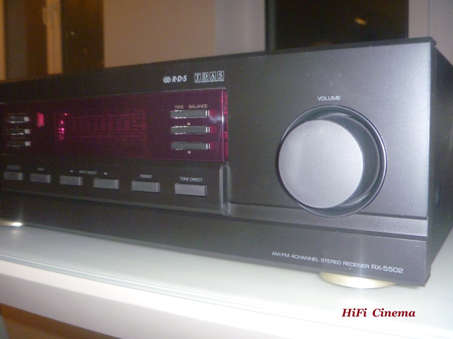 Sherwood RX-5502 volume control, HiFi Cinema