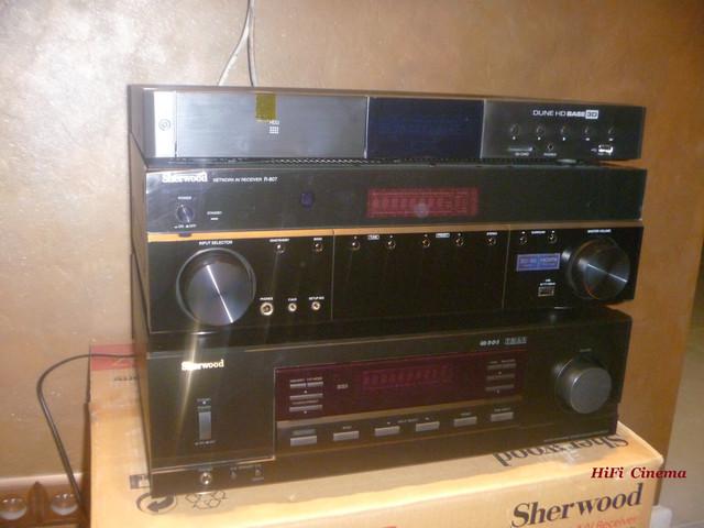 Sherwood RX-5502 Multiroom system, HiFi Cinema