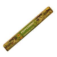 Ароматические палочки мятные (Ice Mint) натуральные индийские благовония
