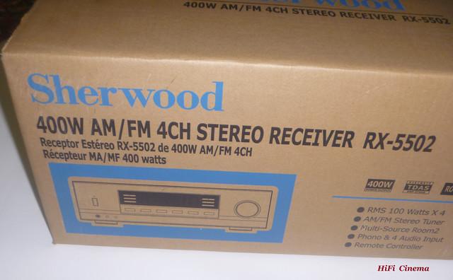Sherwood RX-5502 in Box, HiFi Cinema