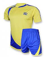 Футбольная форма игровая Europaw 002 (Желтый\синий)