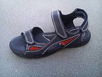 Босоножки, сандалии кожаные подростковые 32 - 39 р-ры, фото 1