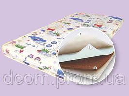Детский матрас в кроватку Соня 120*60 см Поликотон