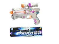 """Космическое оружие """"Бластер"""", свет, звук, вращающиеся элементы, арт. 1208B (967006R) HN"""