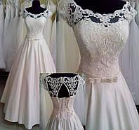 """Свадебное атласное платье """"Оливия-4"""""""