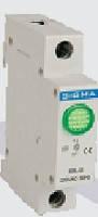 Модуль доп устройство индикатор сигнальный контакт зеленый автомат выключателя DIN-рейку 24В DС цена купить, фото 1