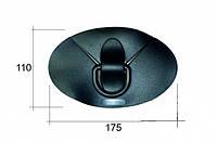 Накладка пвх с пластиковым кольцом для лодки, фото 1