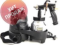 Электрический краскопульт SIGMA Маляр 6816011 HVLP (1,4; 1,8 мм)