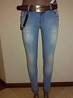 Светлые джинсы без подворота Liuzin 3567, фото 1